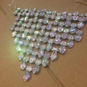 Jewelry - Bandana Gemstone Statement Necklace